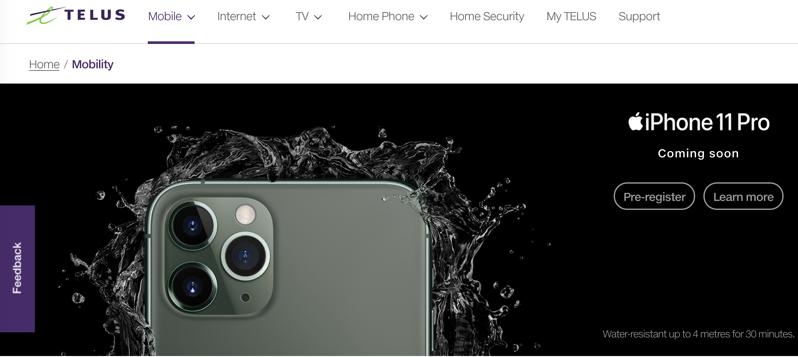 Telus iphone 11 pro