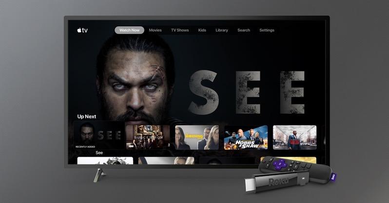Apple TV on Roku English