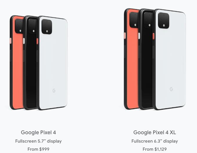 Google pixel 4 pre order canada