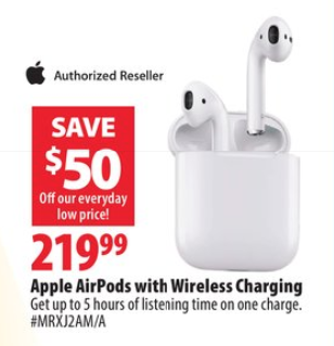 Airpods $219 99