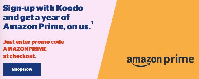 Amazon prime koodo