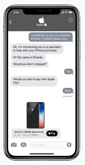 Freedom Mobile Launches Apple Business Chat: Support via the Messages App on iPhone