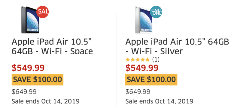 Apple ipad air 10 5 inch sale