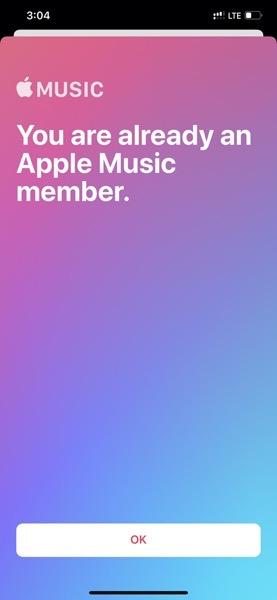 Apple music ios 13 2 bug