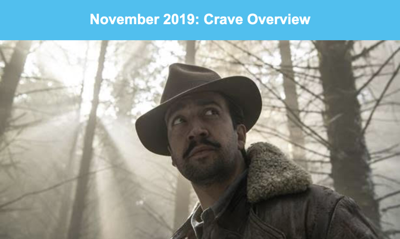 What's New on Crave in November 2019