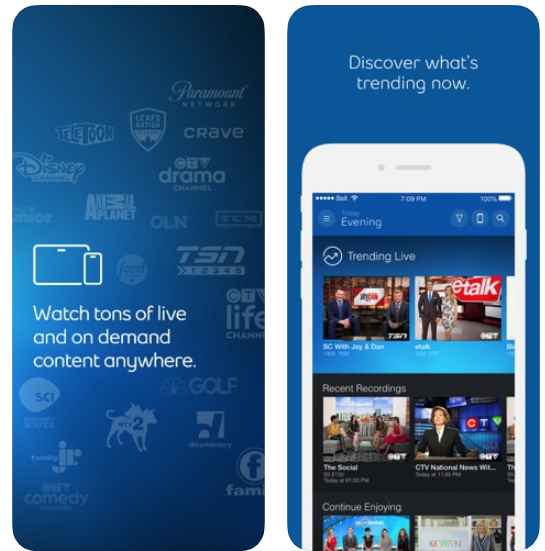 Bell fibe tv ios