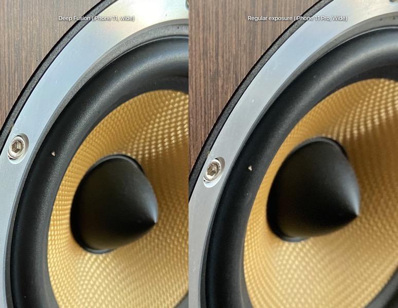 Deep fusion iphone 11 speaker