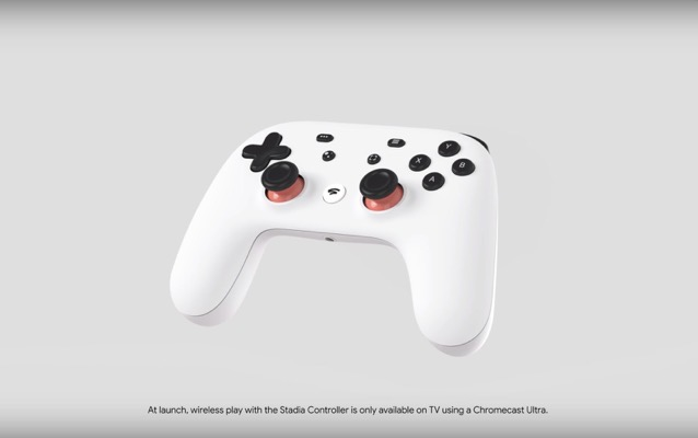 Google Stadia Controller to Only Support Chromecast Ultra Wirelessly at Launch