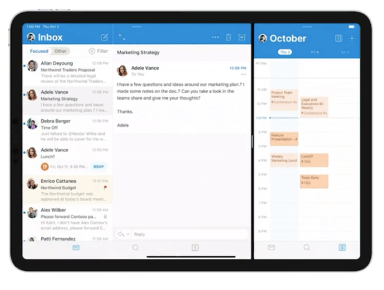 Outlook for iPad to Soon Support Split View, Do Not Disturb, and More