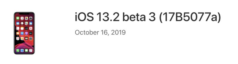 Ios 13 2 beta 3