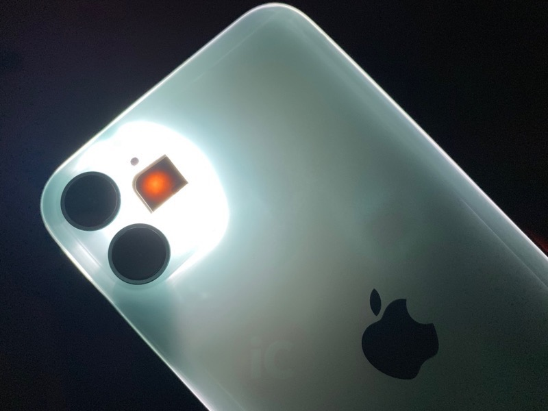 Iphone 11 glows 2
