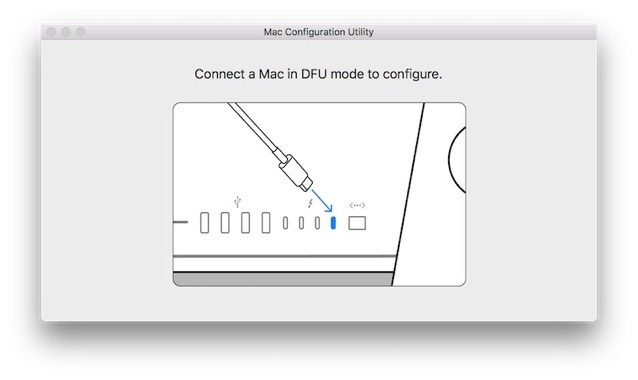 Mac configuration utility