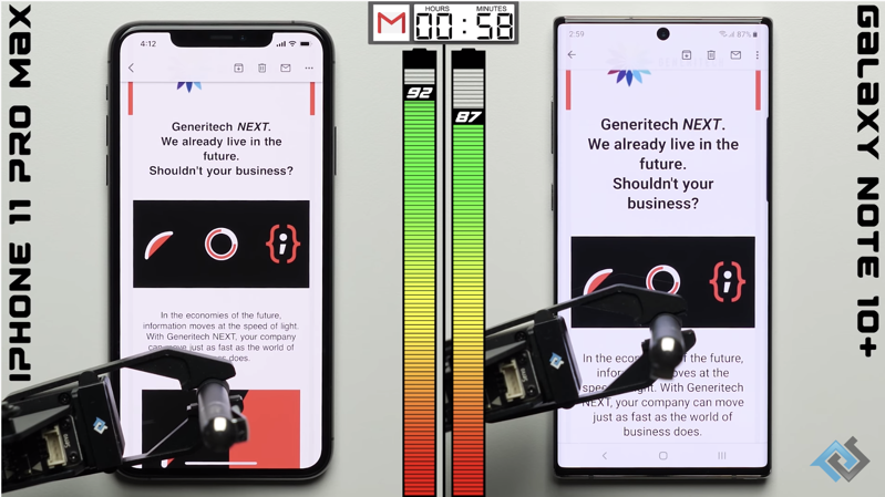 Phonebuff iphone 11 pro max battery test