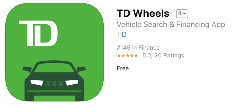 Td wheels app
