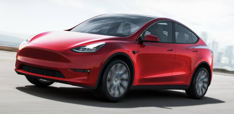 Tesla model y hero