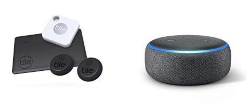 Tile essentials echo dot