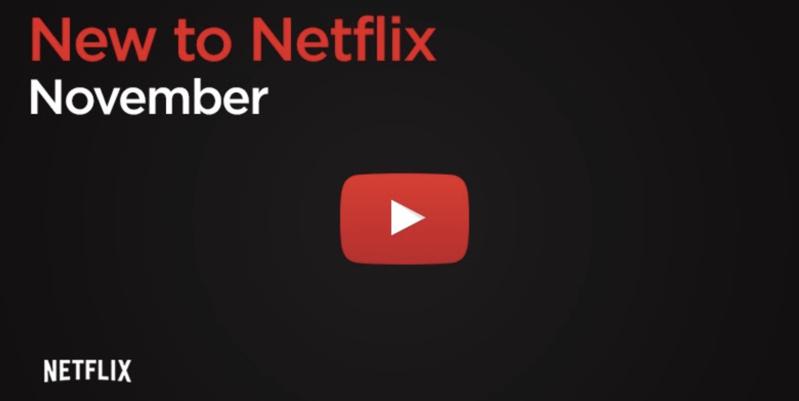 What s new netflix canada november