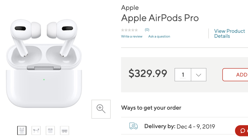 Airpods pro 10 off