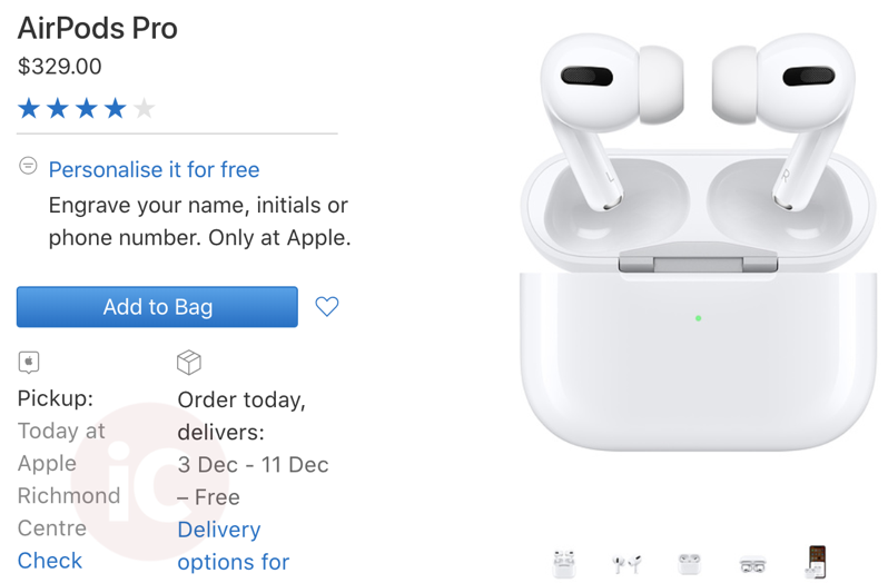 Airpods pro stock canada
