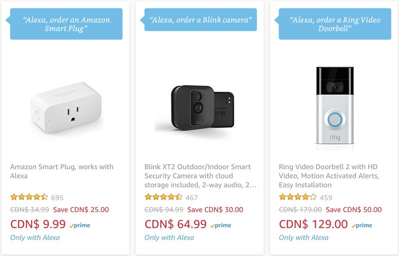 Amazon alexa deals voice