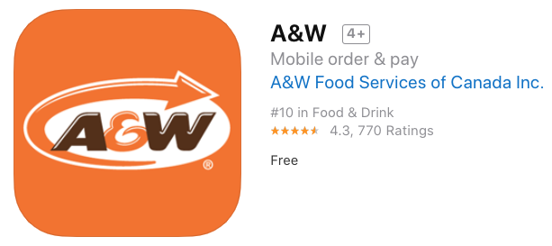 A w iphone app download