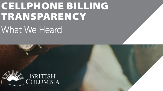 Bc cellphone billing transparency report