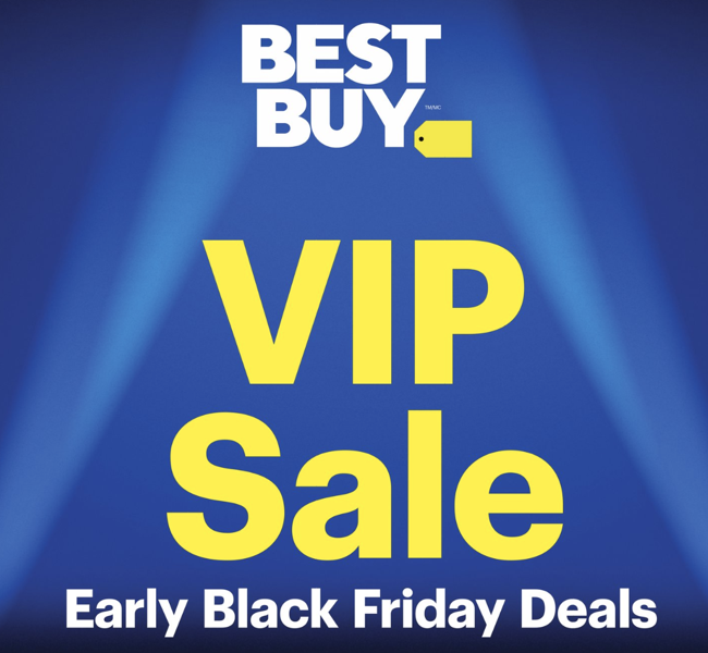 Best buy VIP sale black friday