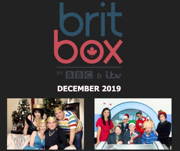 Britbox december canada
