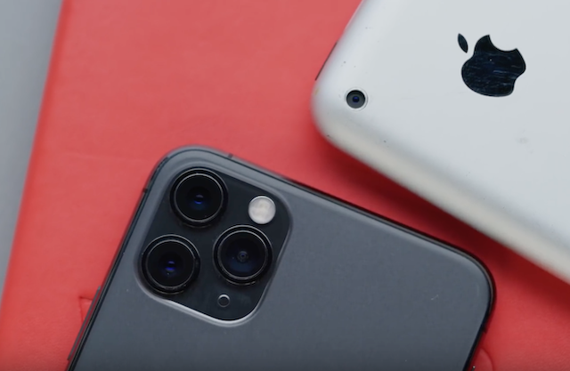 Here's How Far the iPhone 11 Pro Has Come vs the Original iPhone [VIDEO]
