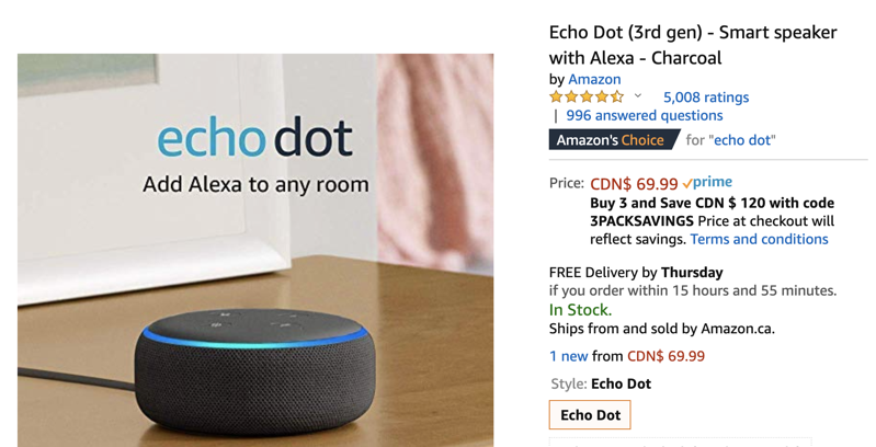 Amazon Deals: Echo Dot for $29, Echo Show 8 for $99, $30 Off Kindle Paperwhite and More
