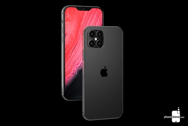 'iPhone 12' Concept Imagines 4-Lens Camera, Smaller Notch, and More