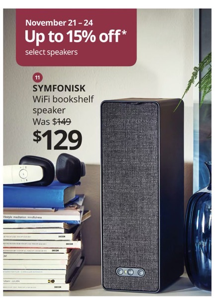 Ikea sonos symfonisk sale
