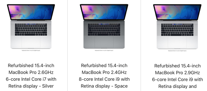 Macbook pro refurbished