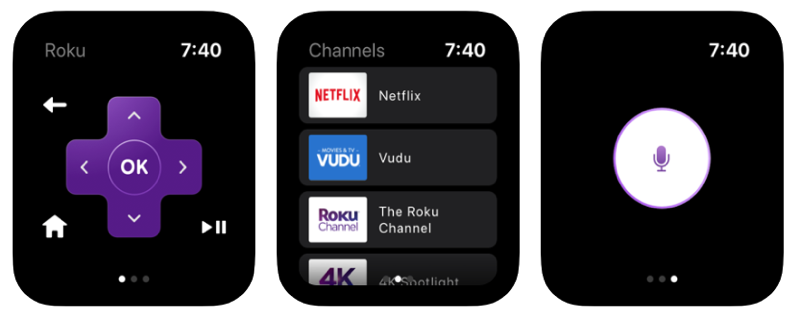 Roku apple watch
