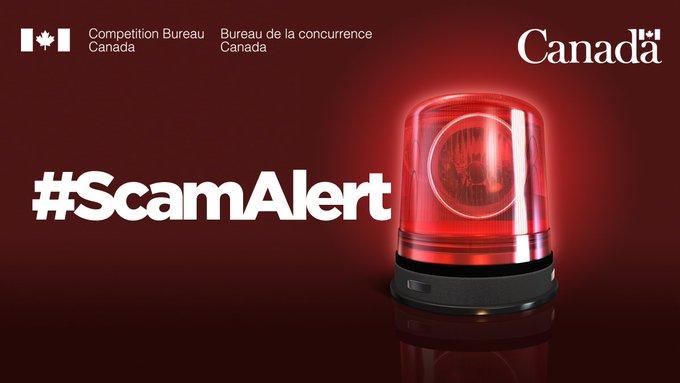 Scam alert competition bureau