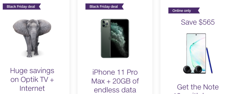 Telus black friday 2019 deals