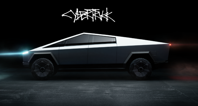 Tesla cybertruck canada