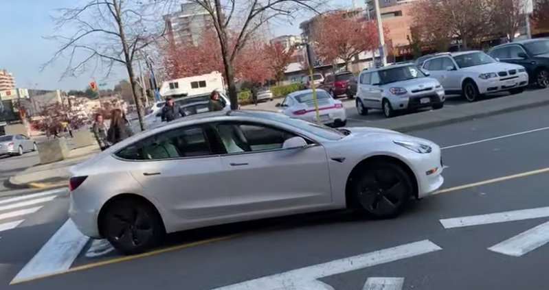Tesla model 3 richmond centre
