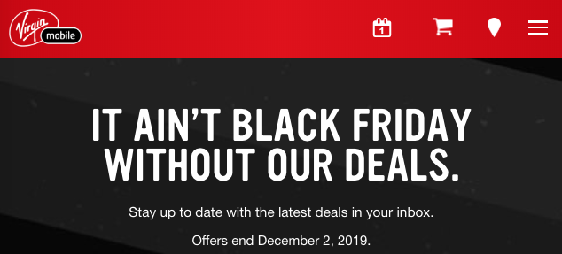 Bell And Virgin Black Friday 2019 Deals Now Available Iphone In Canada Blog