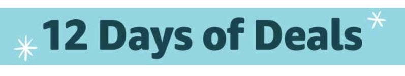 12 days of deals amazon