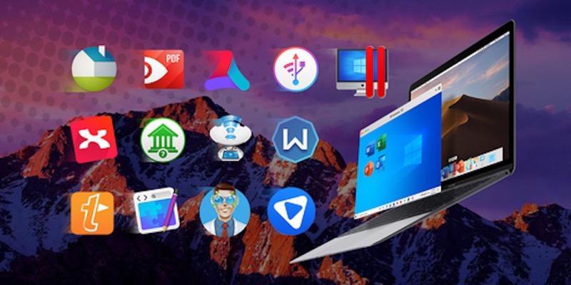 2020 Limited Edition Mac Bundle Ft Parallels Desktop Background
