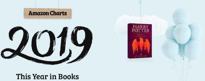 Amazon 2019 year in books