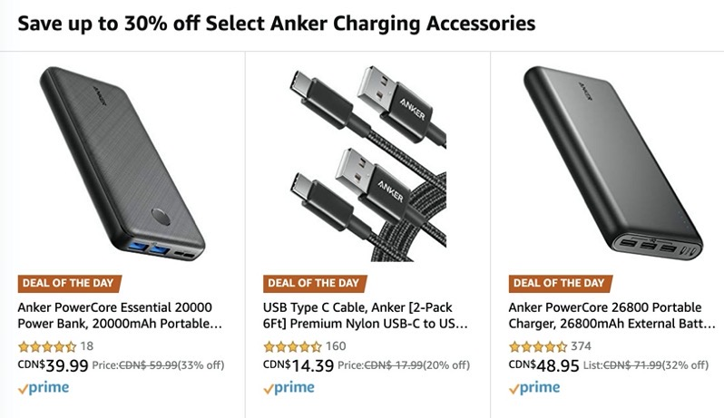 Anker boxing day deals 2019