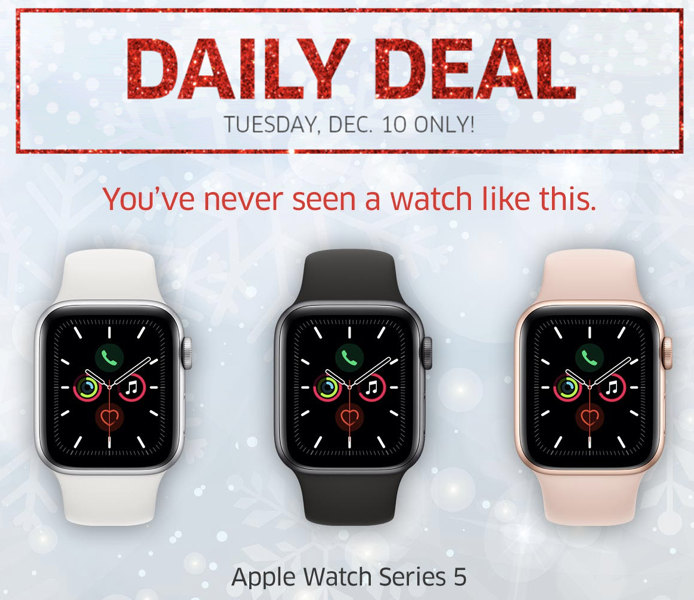 Apple watch deal the source