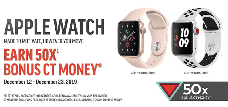 Apple watch event sport chek