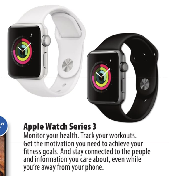 Apple watch series 3 ccyber monday