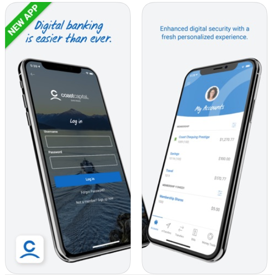 Coast capital savings iphone new