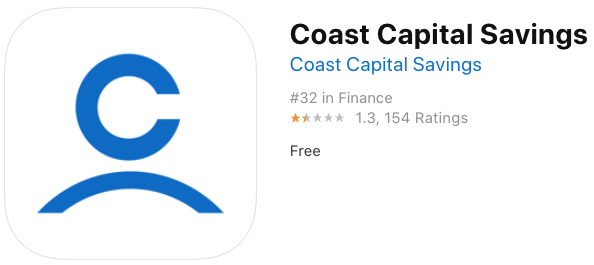 Coast capital savings new ios