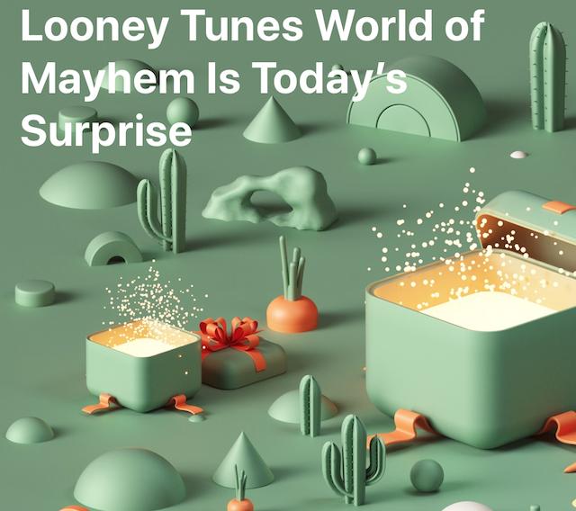 Looney surprise