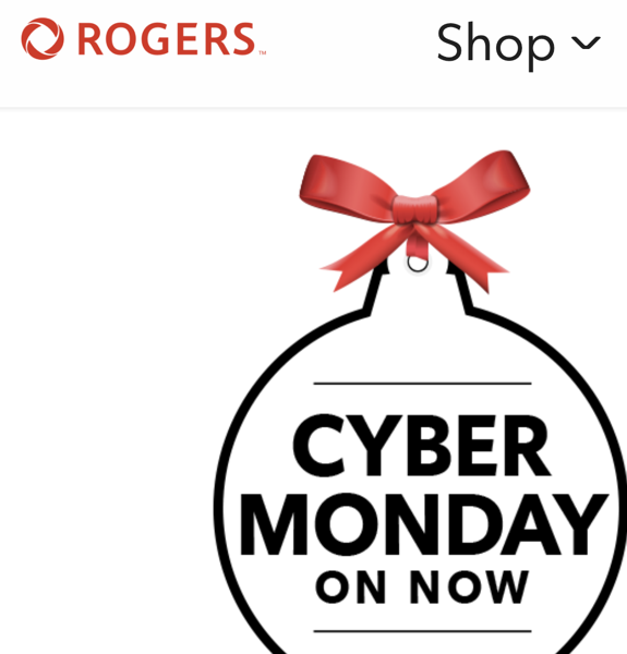 Rogers cyber monday 2019 deals